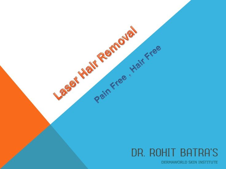 If you're not happy with shaving, tweezing, or waxing to remove unwanted hair and want to remove it permanently,Laser hair Removal is best . Laser Hair Removal gives to hair removing without pain and discomfort.
