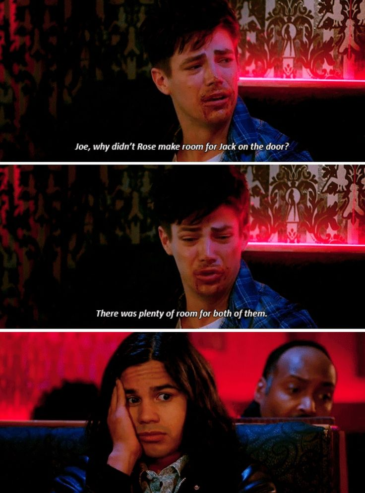 Drunk Barry is the best!!!!  PS: I agree ... THERE WAS ENOUGH ROOM ON THE DOOR!!!!