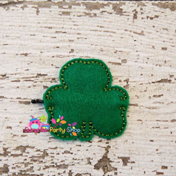 Shamrock Bobby Pin Buddie Hair Accessories by SurprisePartyShop
