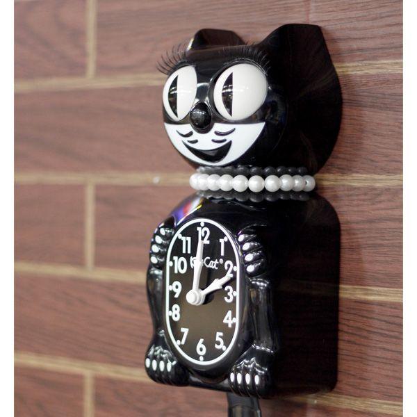 Kit-Cat Clock キットキャットクロック (ブラックレディー) Limited Edition