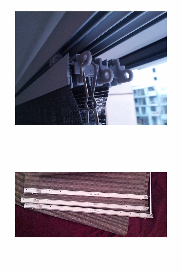 Ikea Kvartal Curtain In 2020: Details Of My Ikea Kvartal Triple-track Curtain Panels