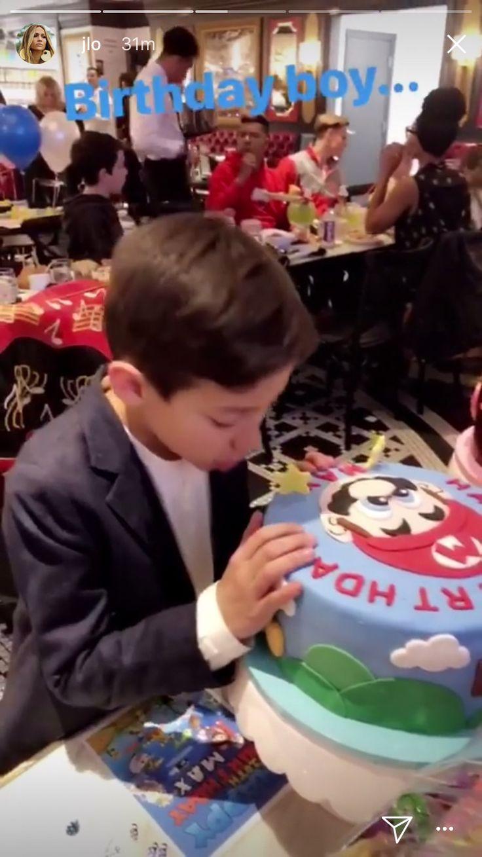 Jennifer Lopez Throws Birthday Bash to Celebrate Twins Turning 10 — See Their Impressive Cakes!