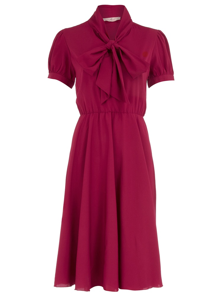 Pink pussy bow dress: Pretty Dresses, Bow Dresses, Fashion Style, Pink Bows, Modest Clothes, Pussy Bow, Classy Dresses