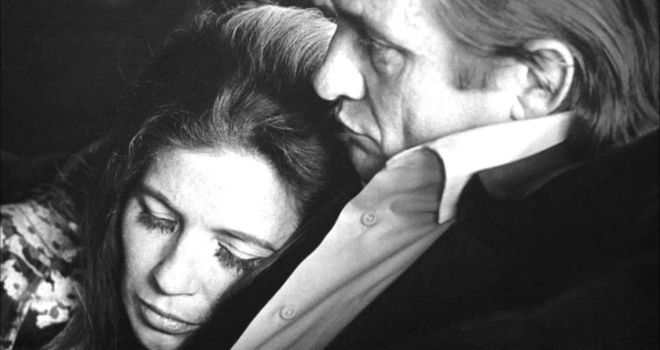 In 1968, 13 years after they first met backstage at the Grand Ole Opry, Johnny Cash proposed to June Carter, of the famed Carter Family, during a live performance in London, Ontario. Description from pinterest.com. I searched for this on bing.com/images