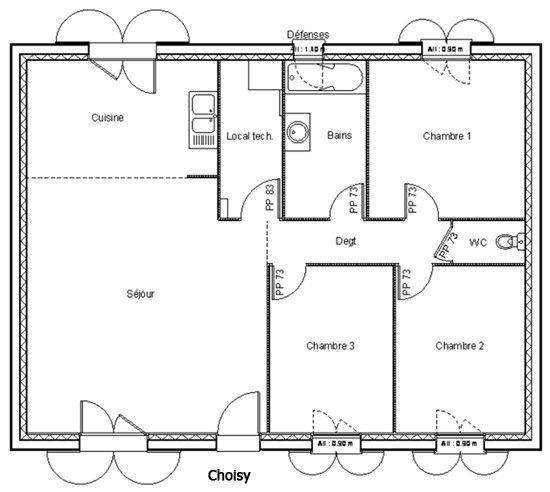 11 Superior Fantastic Plan Maison De 80m2 How To Plan Cool House Designs Safi