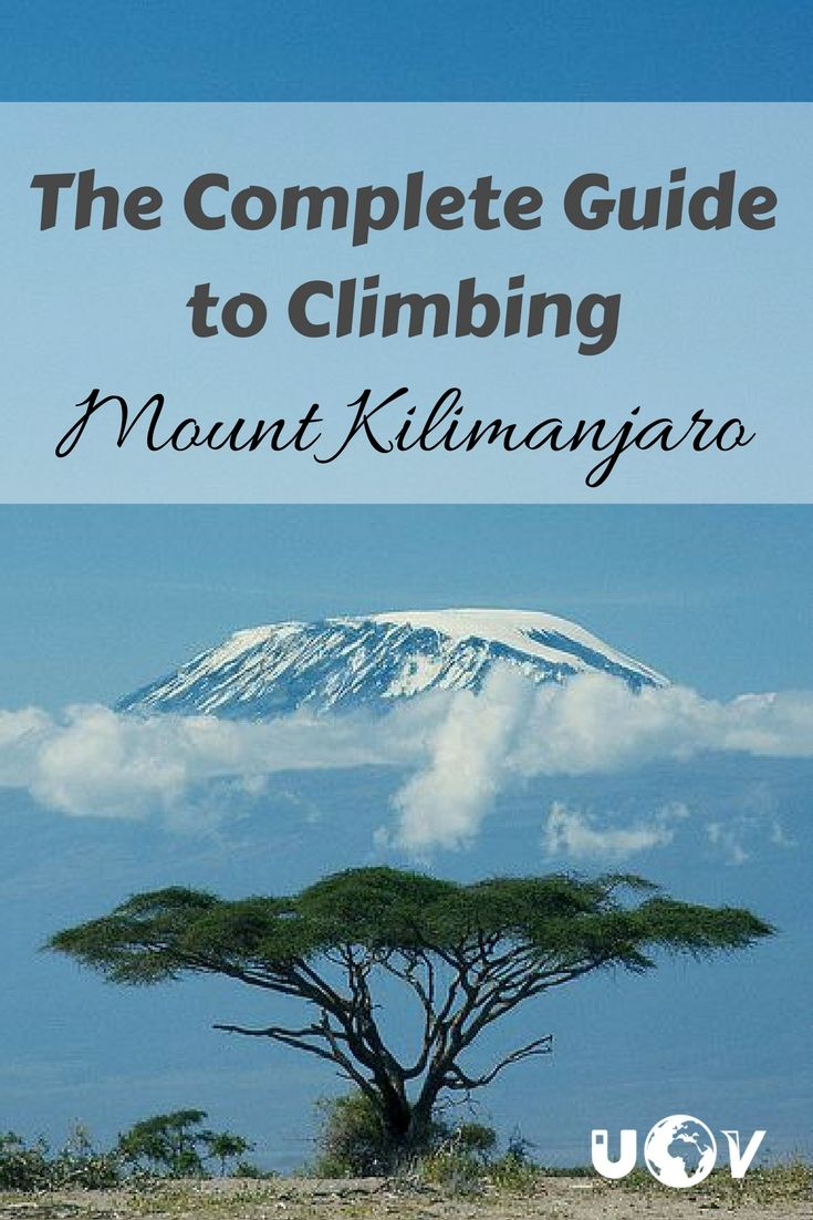 The complete guide to everything you need to know about climbing Kilimanjaro in Tanzania. How to get to the top of the roof of Africa!