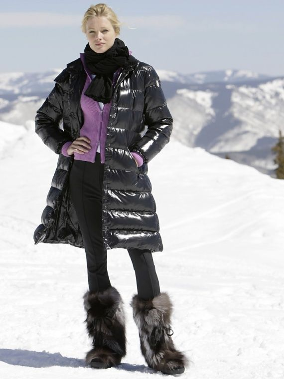 "Moncler ""Meina"" down coat @ Gorsuch"
