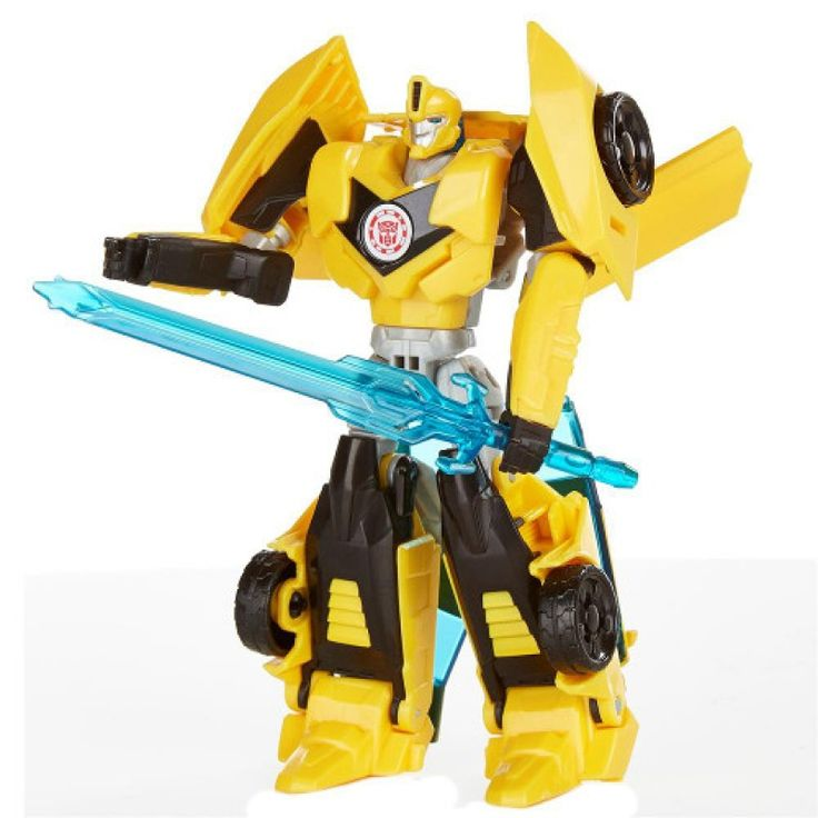 Boneco Transformers Disguise Warriors - Bumblebee - Hasbro