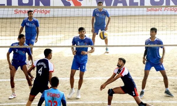 V Day Volleyball Bangladesh Army Earn 3rd Consecutive Victory Victorious Volleyball Tournaments Volleyball
