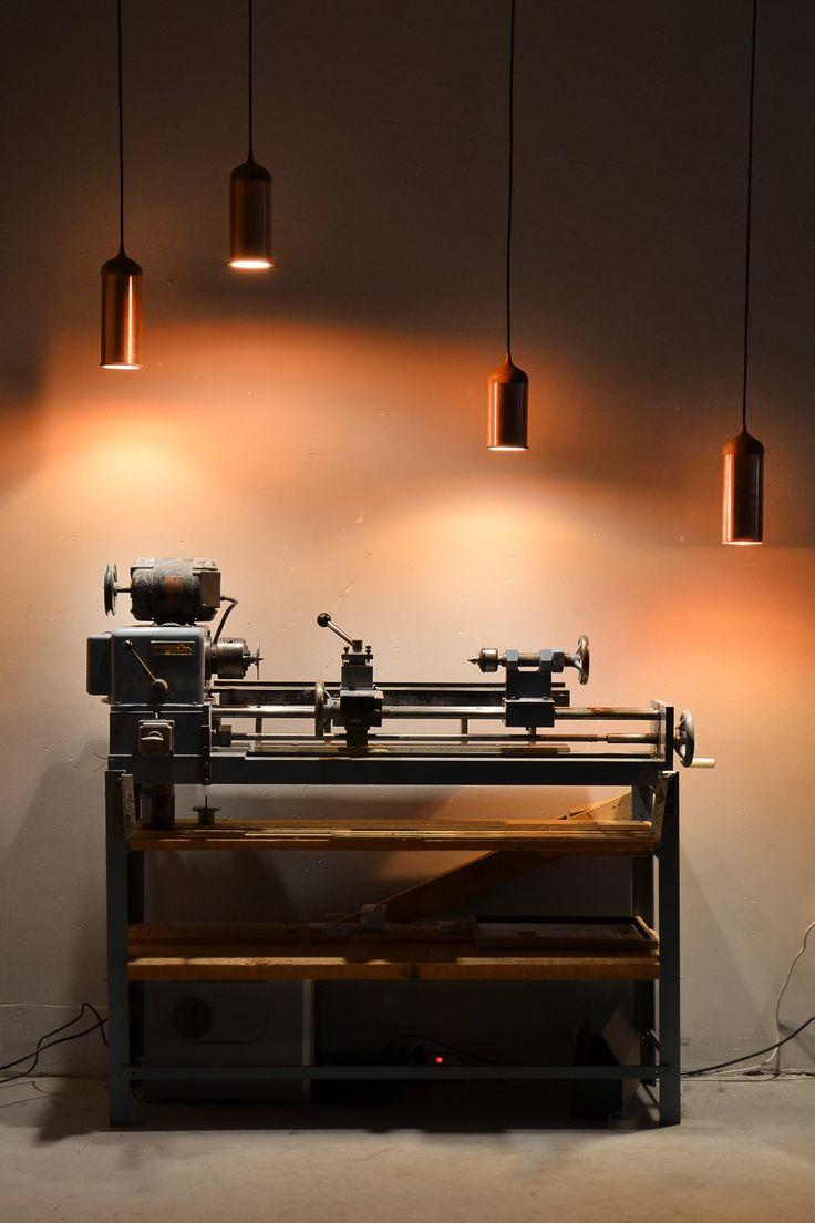 Fraaie #koperen #lampen die je huis een #industriële maar #warme sfeer geven