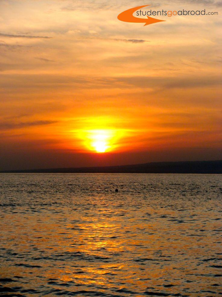 Awesome Sunrise at #GiliAir