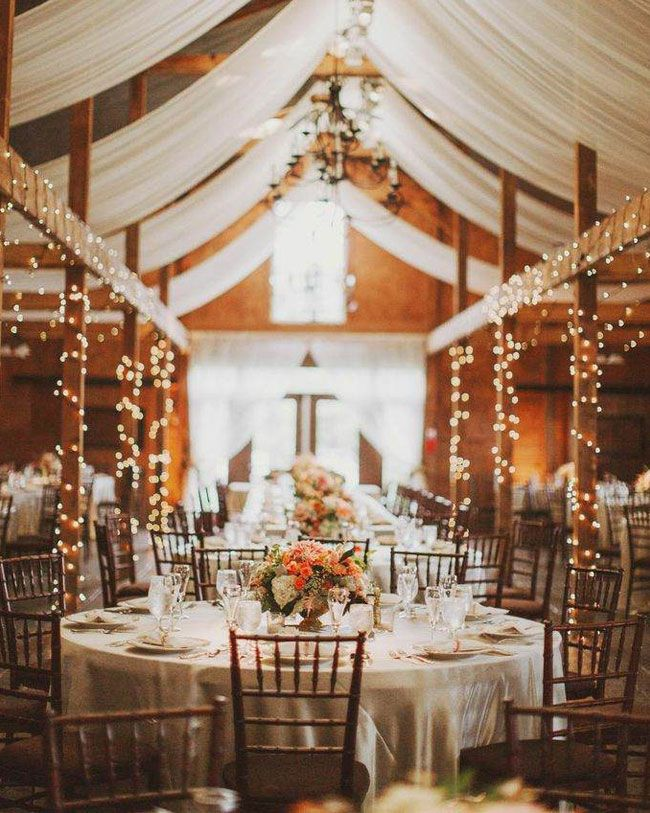 Farm Barn Wedding Reception Ideas Fall Weddings