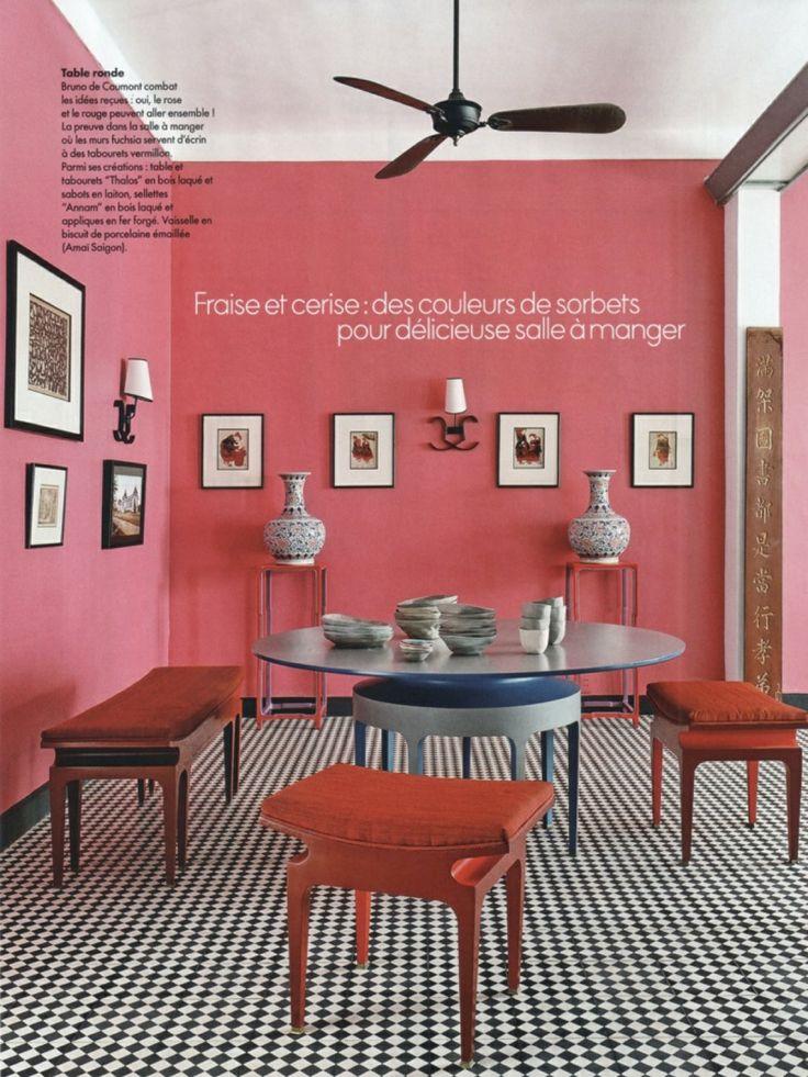 townhouse in vietnam elle decoration france april 2014 interior design by bruno de caumont. Black Bedroom Furniture Sets. Home Design Ideas