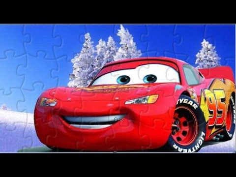 PUZZLE Best Car Disney Funny Game for Kids Video with Funny Toyo Surprise - YouTube