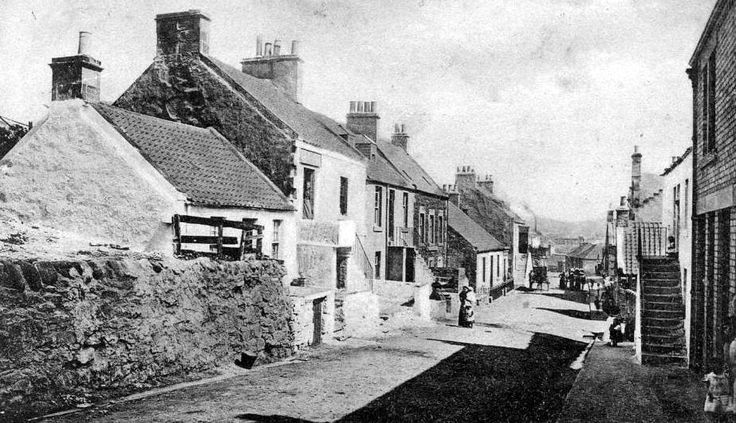 Old photograph of Buckhaven, Fife, Scotland. I was born in this Scottish village
