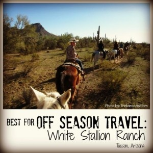 Best for Off Season Travel: White Stallion Ranch. Best Family Dude Ranch Vacations on @Trekaroo @WSRanch @WhiteStallionAZ @azcowgirl