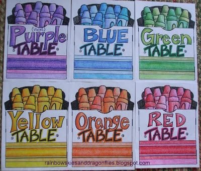 Rainbow Skies & Dragonflies: A New School Year… -- This would help with classroom management