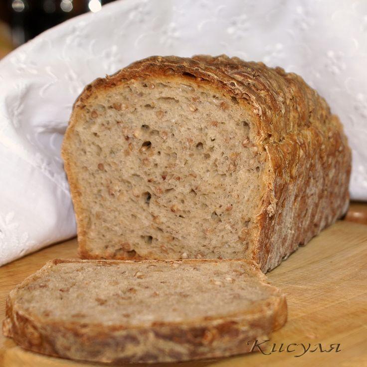Гречневый хлеб рецепт с фотографиями