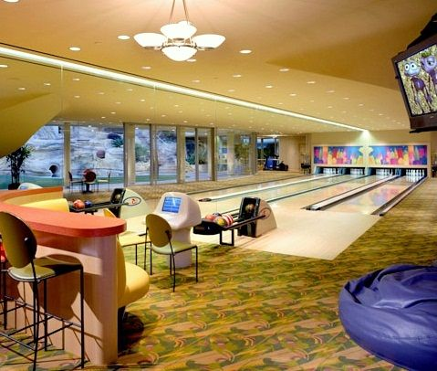 Home Basement Bowling Alley Lanes In 2018 Pinterest And