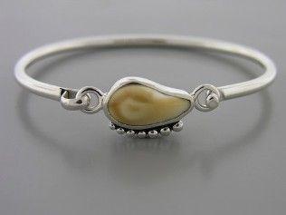 Elk Ivory Bracelet hand made