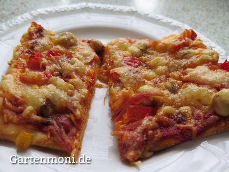 """Pizza ohne """" Matsch"""" aufwärmen"""