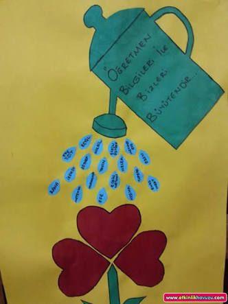 öğretmenler günü kartları okul öncesi ile ilgili görsel sonucu