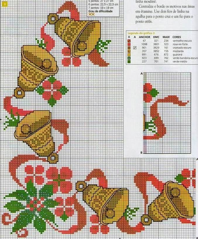 Cross Stitch Patterns free (You can stitch this on towels, normally on a corner)