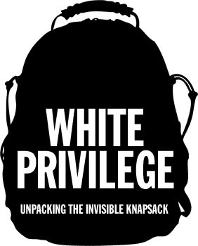 From one white person to another: We've got privilege.  Don't get guilty. Unpack it. #zine #whiteprivilege