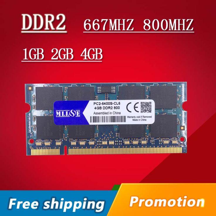 MLLSE 1gb 2gb 4gb DDR2 667 800 667mhz 800mhz PC2-5300 PC2-6400 1g 2g sodimm so-dimm sdram Memory Ram Memoria For Laptop Notebook www.peoplebazar.net    #peoplebazar