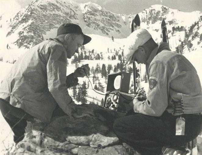 Snowbasin Resort History - Ski racing begins, Wildcat lift construction woes and Snow Basin becomes a recreation spot for local WWII soldiers.