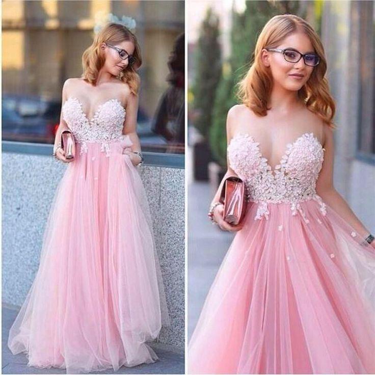 Mejores 106 imágenes de lace prom dress,long prom drss en Pinterest ...