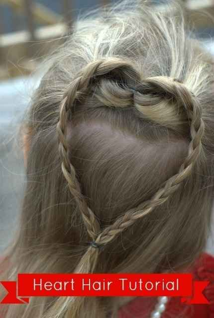 Heart Crown Braid | 37 Creative Hairstyle Ideas For Little Kids