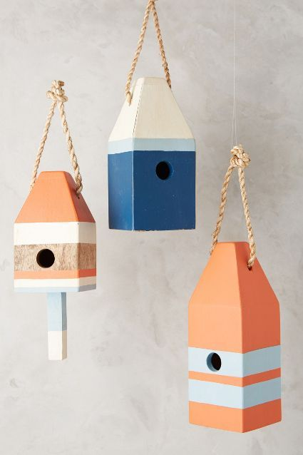 Buoy Birdhouse - anthropologie.com