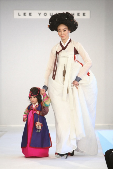 HANBOK (korean traditional costume) designed by LEE YOUNG HEE