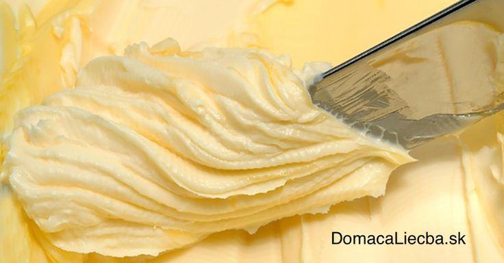 Naučte sa, ako si vyrobiť vlastné maslo a už viac nekupujte predražené z obchodu