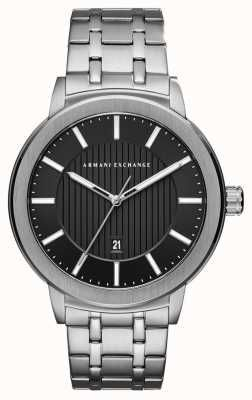 Armani Exchange Mens Stainless Steel Watch AX1455