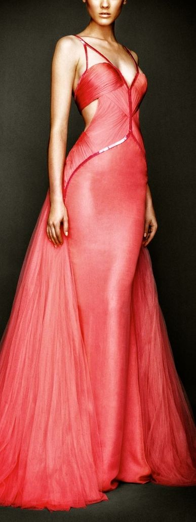 Versace | Cynthia Reccord......This is a beautiful dress somone should have worn it on the 'red carpet'