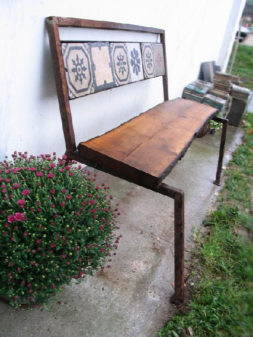 bench at the MOZA workshop