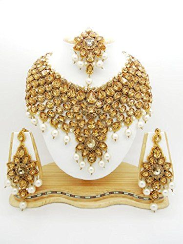 Indian Traditiona Bollywood Style Gold Plated White Pearl... https://www.amazon.com/dp/B01LY0M5TG/ref=cm_sw_r_pi_dp_x_PuaTybN5P0K43