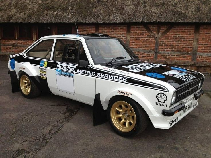 Ford Escort Mk2 Grp 4 Rally Car: Ford And Rally Car