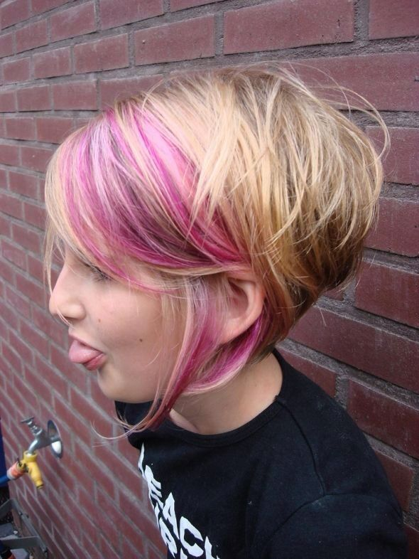 I like the large chunk of pink in the front