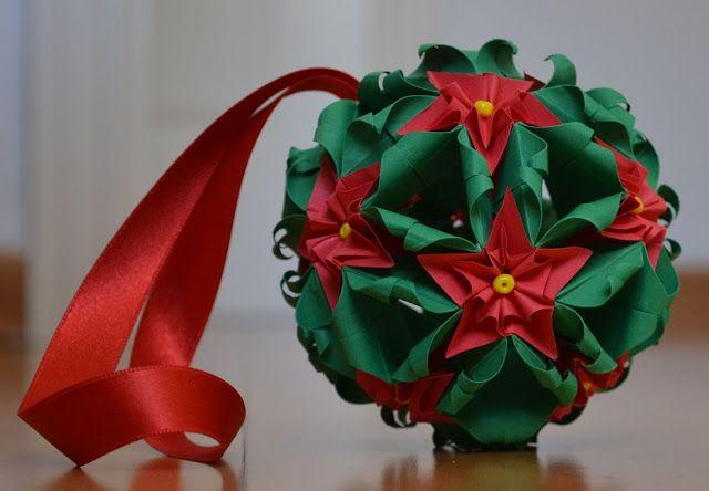106 best kusudama modular origami images on pinterest modular kusudama christmas flowers video tutorial mightylinksfo