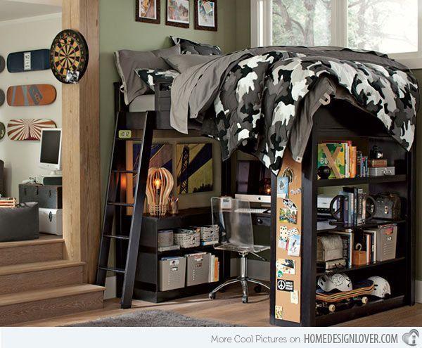 Best 25 cool boys bedrooms ideas on pinterest kids for Cool guy bedroom ideas