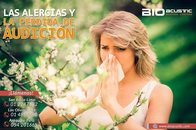 Audifonos para Sordera: Las Alergias y la Pérdida de Audición