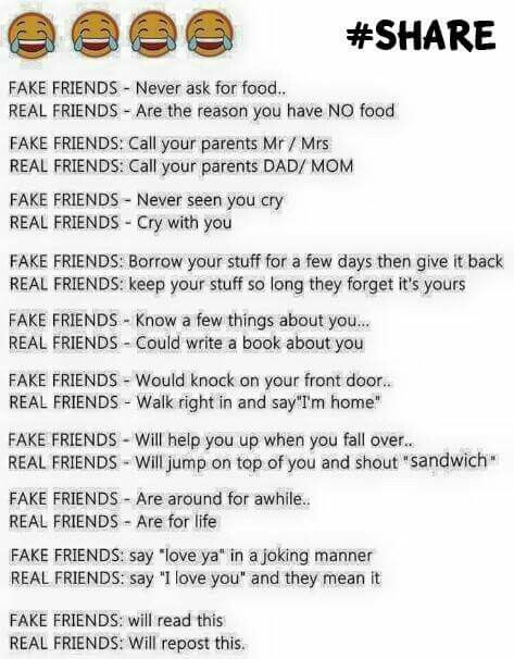 real friends vs facebook friends essay