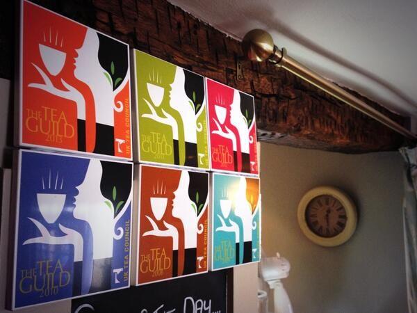 Filming at The Black Swan's Tearoom in Helmsley
