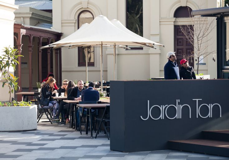 Jardin Tan. A slick, Vietnamese-inspired cafe and bar in the Royal Botanic Gardens by Shannon Bennett.