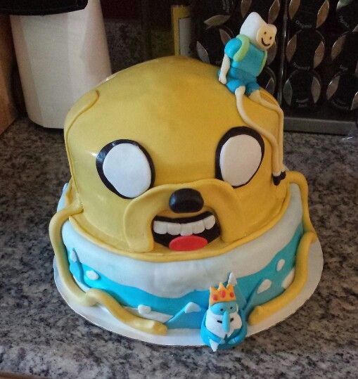 ... and the ice king  My cakes  Pinterest  Ice, Adventure and Ice king