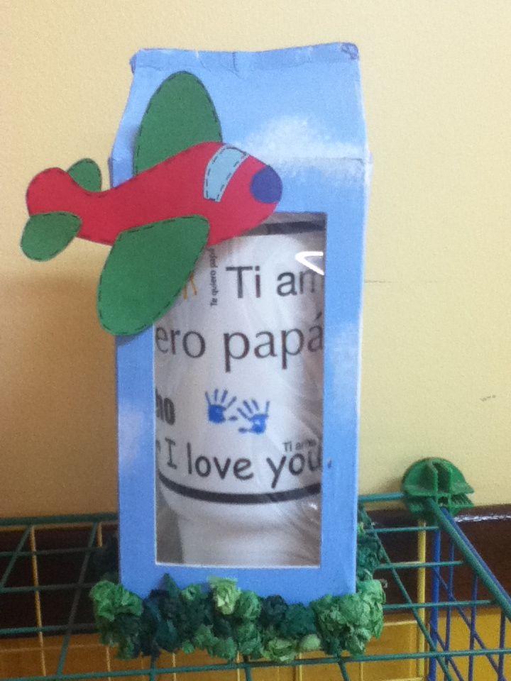 Caja para regalo de Papá