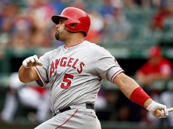 9. Albert Pujols, Angels -- 1.051  -        The Angels' Albert Pujols follows through on his home run against the Rangers Aug. 16 in Arlington, Texas.   -  The 10 Best Active Opening Day Stars  -  March 30, 2017